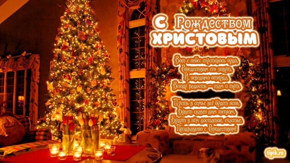 Милые и приятные картинки С Рождеством - поздравления 11