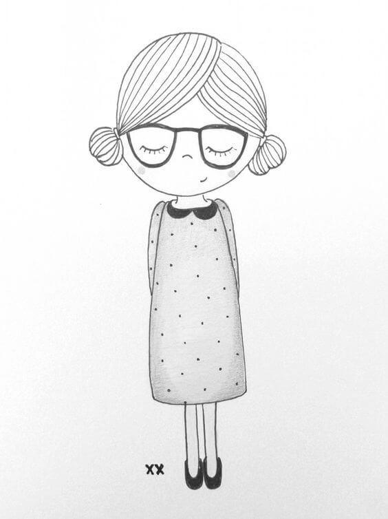 Рисунки для начинающих карандашом для срисовки - самые прикольные 8