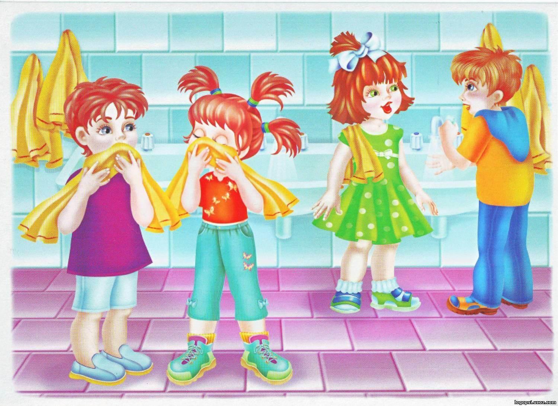 Картинки про детей в детском саду - рисунки, арты 15