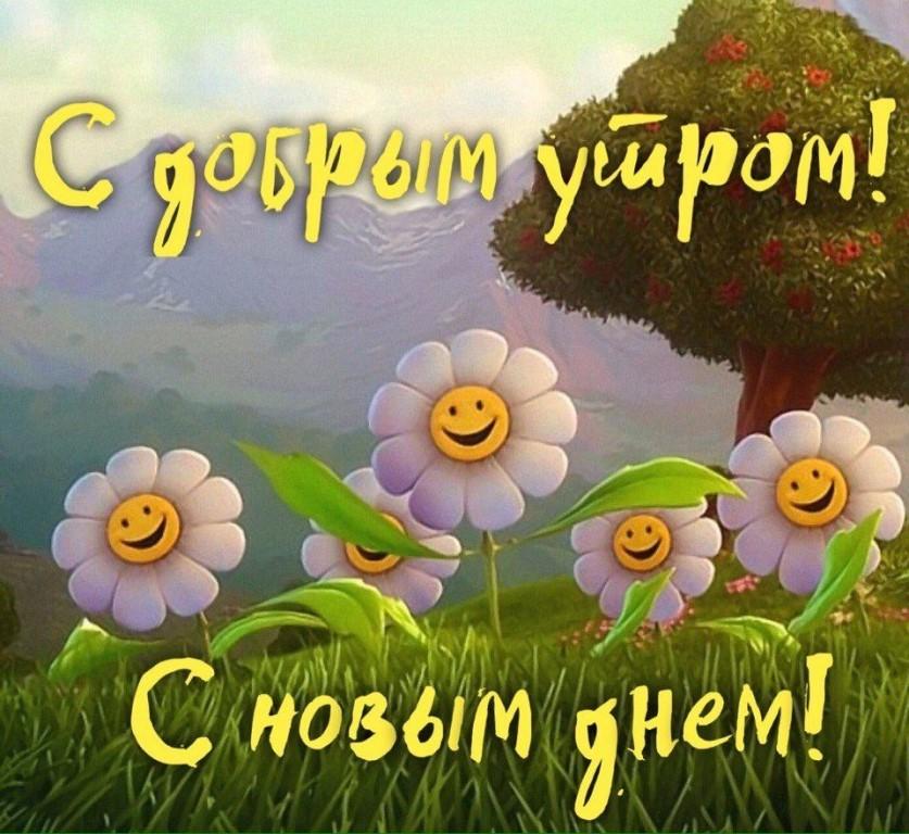 Добрые и красивые картинки с добрым утром, пожелания 8