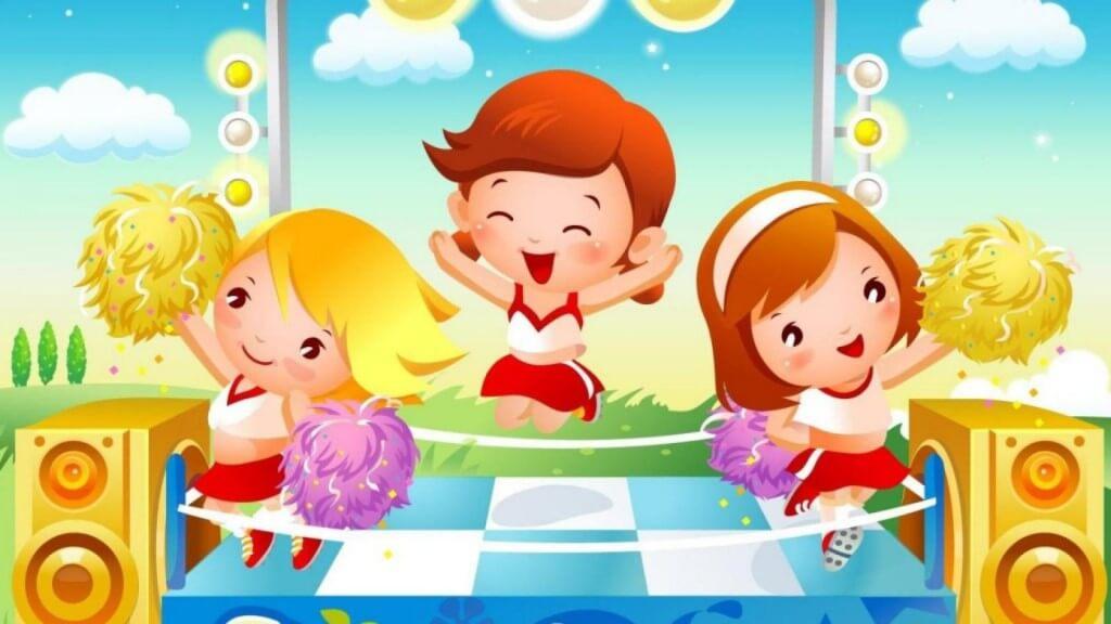 Картинки про детей в детском саду - рисунки, арты 16