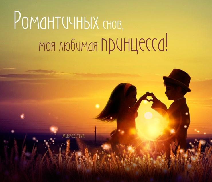 """""""Спокойной ночи моя хорошая"""" - красивые картинки и открытки 7"""