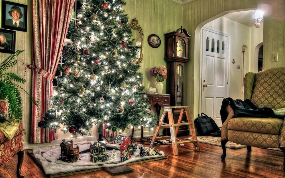 Прикольные и смешные картинки про новогоднюю елку - подборка 12