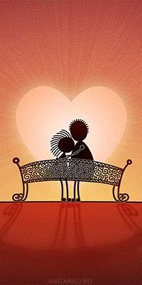Красивые картинки о любви на аву - подборка 6