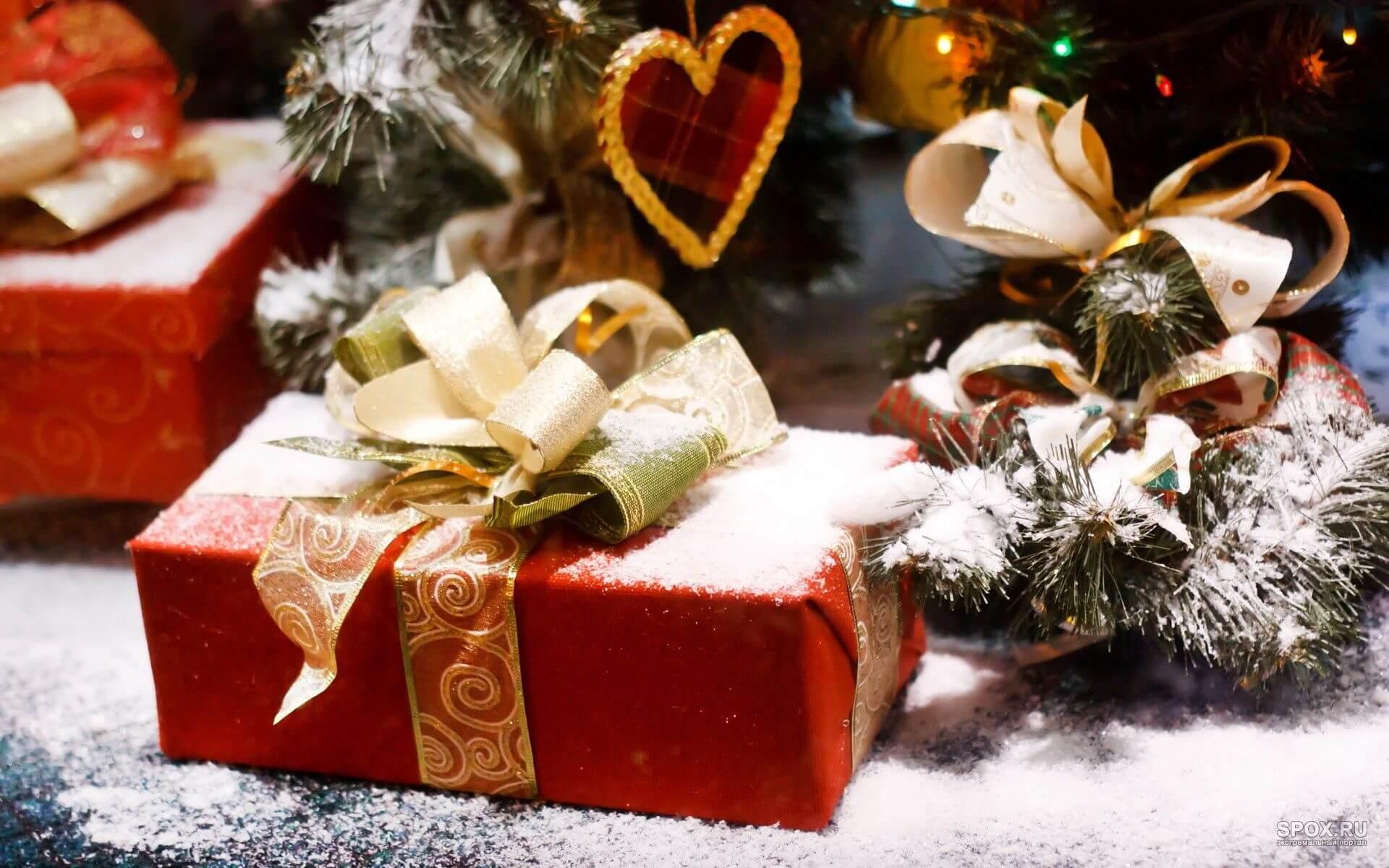 Красивые картинки подарков на Новый год 2019 - подборка 15