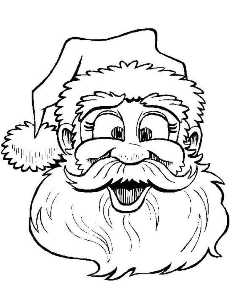 Лучшие новогодние картинки для детей для срисовки - подборка 14