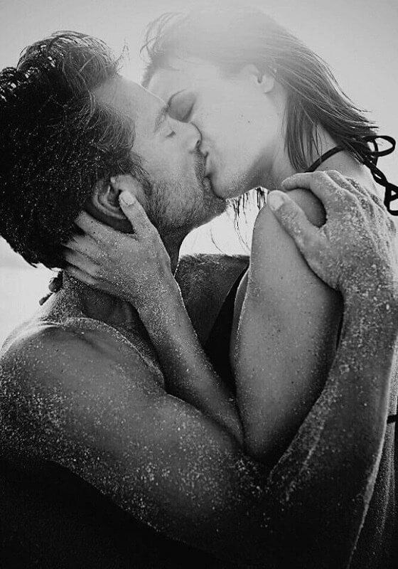 Фото нежного и романтического поцелуя между девушкой и парнем - 20 картинок 18