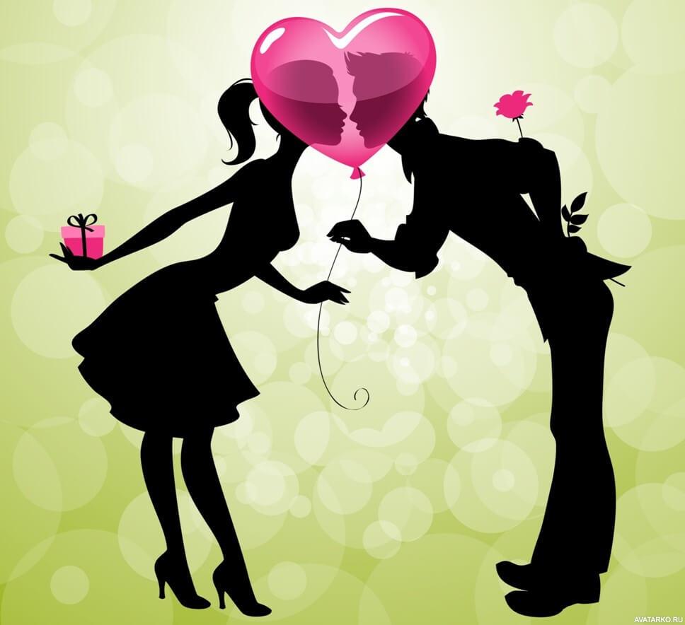 Красивые картинки о любви на аву - подборка 9