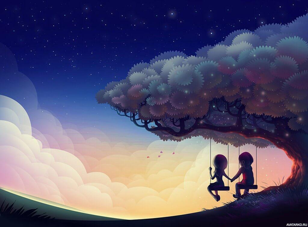 Красивые картинки о любви на аву - подборка 11