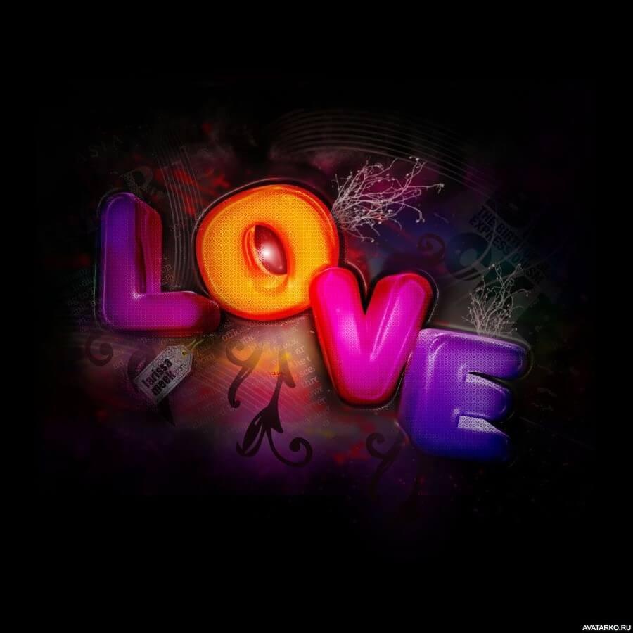 Красивые картинки о любви на аву - подборка 14