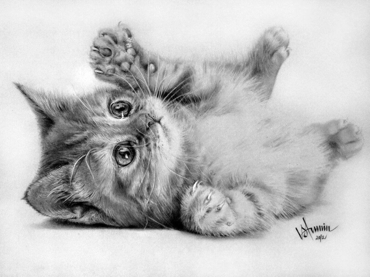 Красивые и милые картинки карандашом от руки - подборка (23 фото) 12