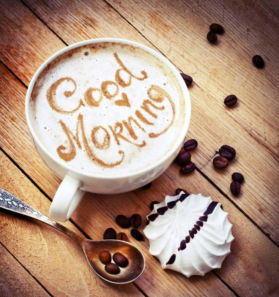 Картинка доброе утро с надписями