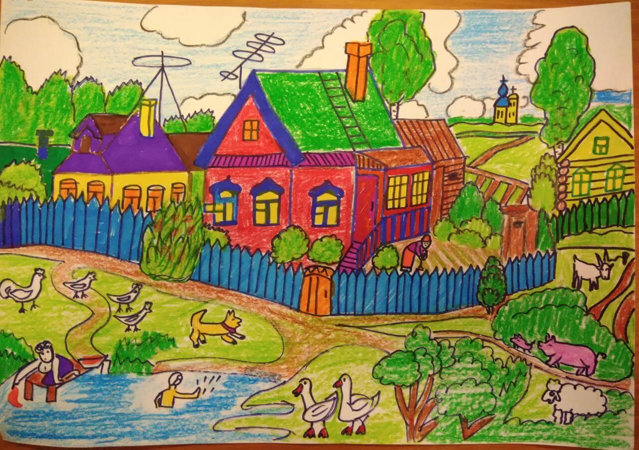 картинки на тему наше село клинцовской
