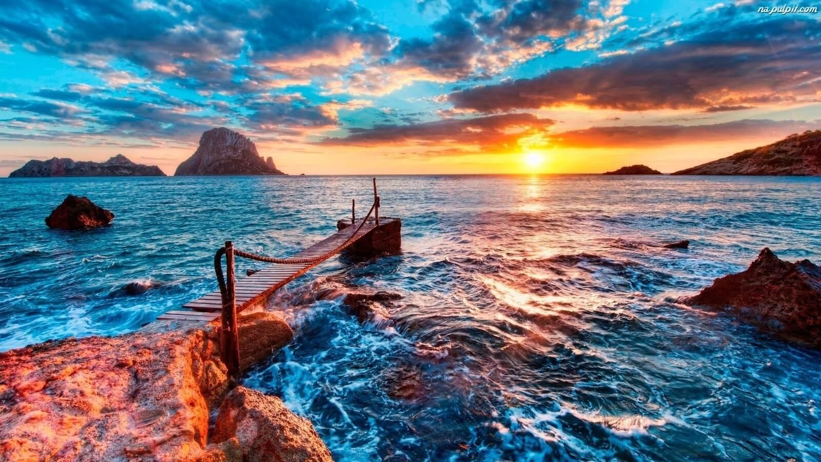 Днем, картинка с видом на море в хорошем качестве