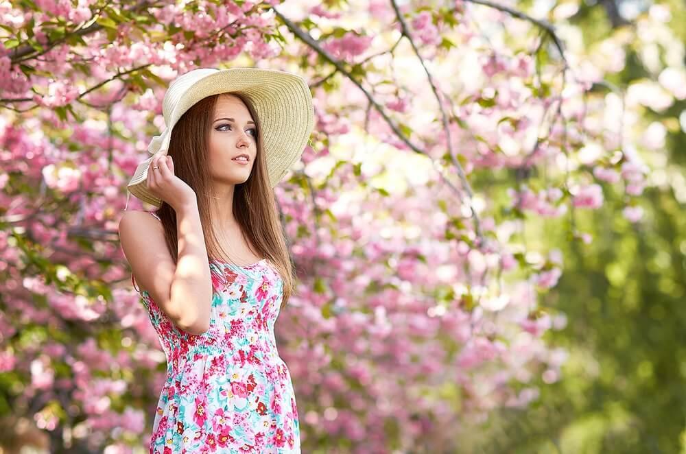 Картинки и фото весны с девушками