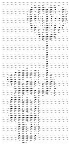 Рисунки из символов на клавиатуре прикольные, людмилу