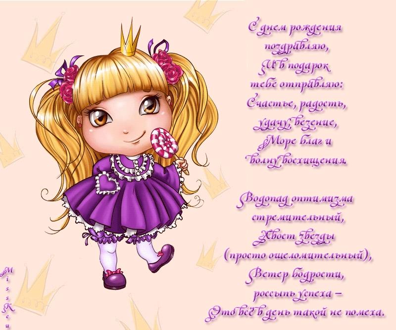С днем рождения маленькую принцессу картинки, днем рождения лет