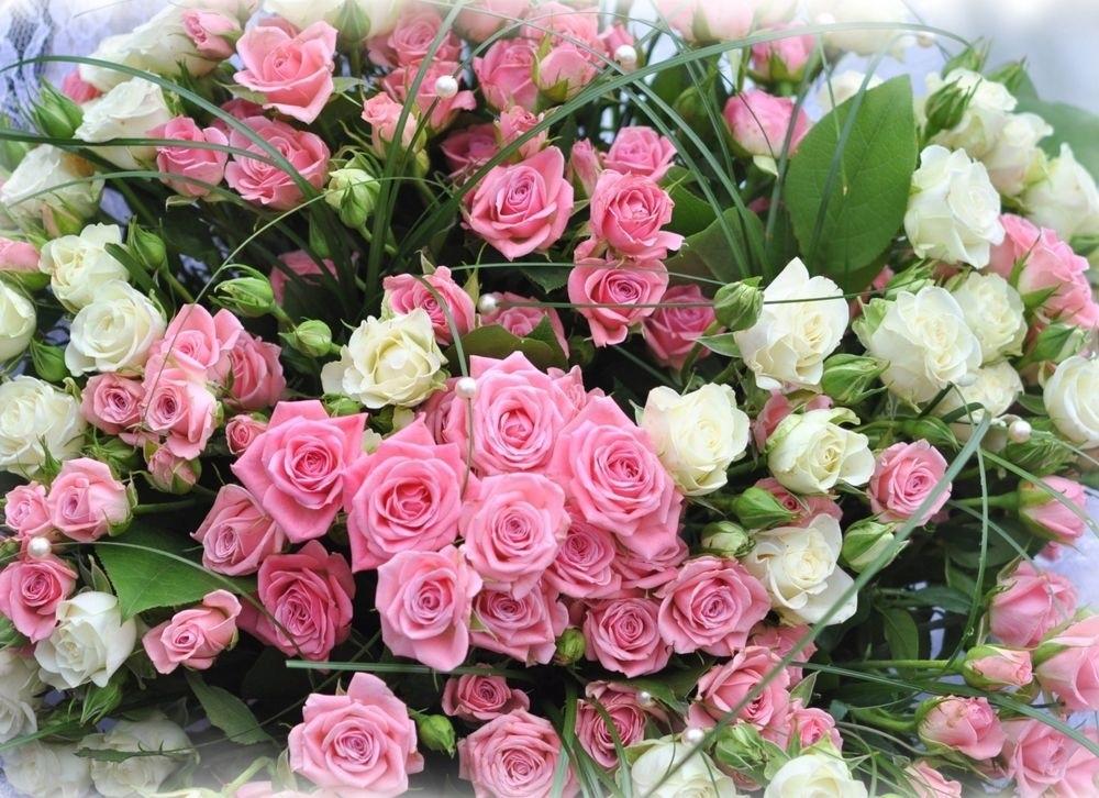 Цветов красивые букетов роз с днем рождения картинки, цветочная база
