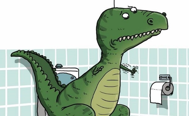 Летием девушке, картинки смешные про динозавров