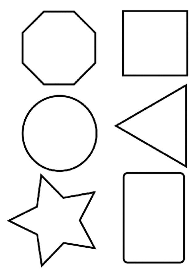 решение геометрические фигуры шаблоны картинка фотоаппарат пригодится