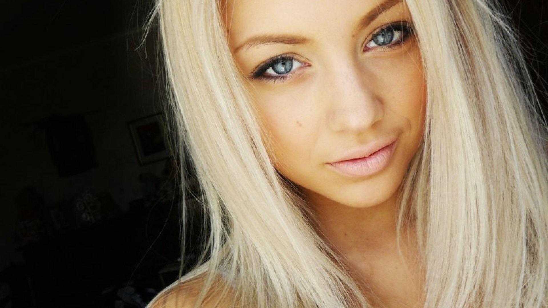 Картинки красивых девушек блондинок на аву