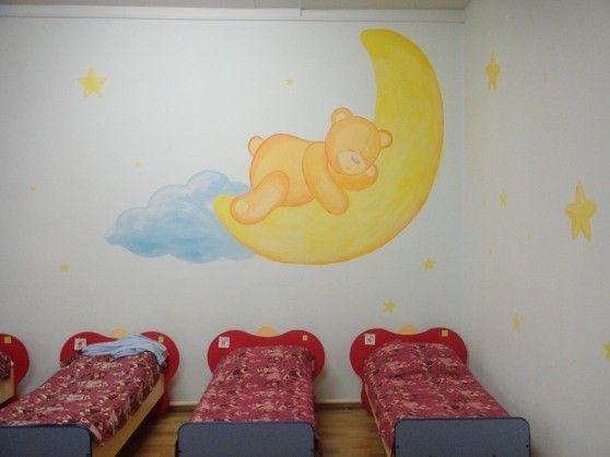 Картинки для детской спальни в садике