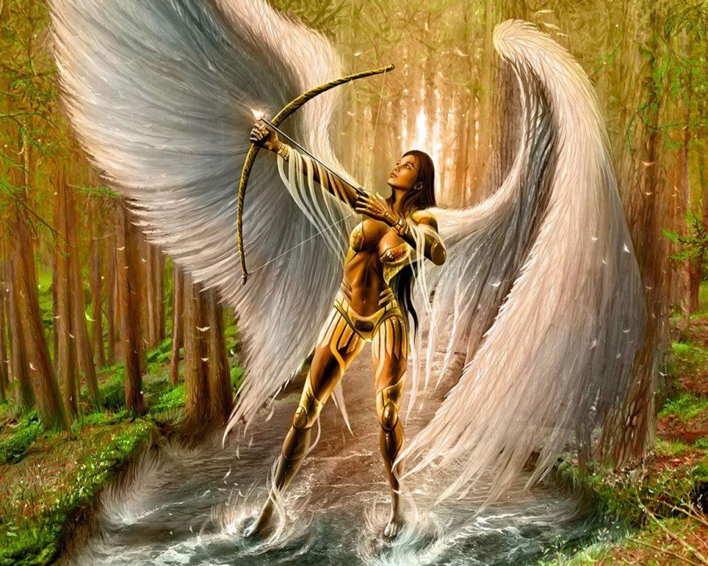 Картинки ангелов на заставку
