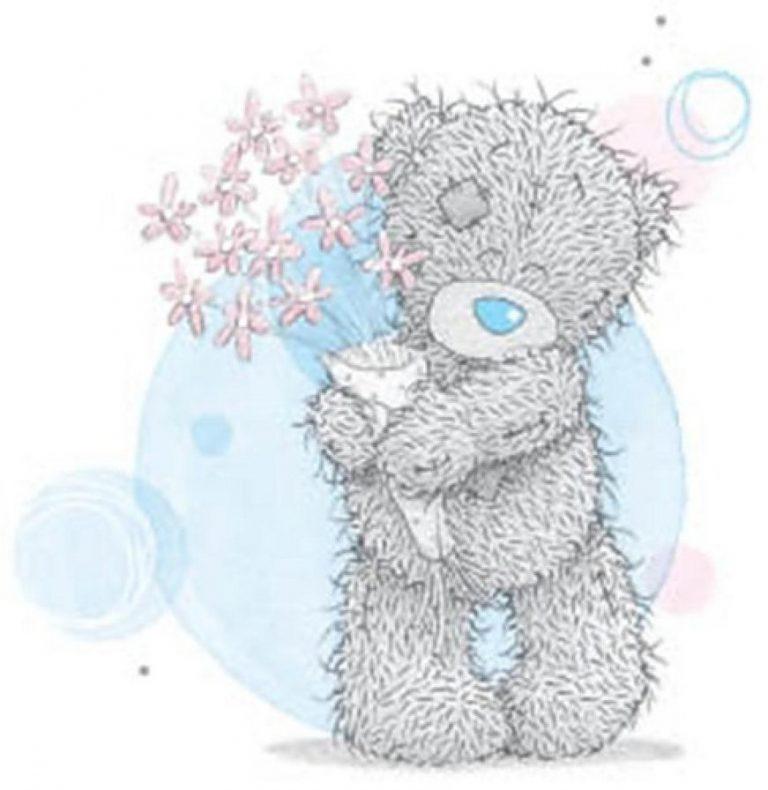 Для друга, картинки с медведями тедди