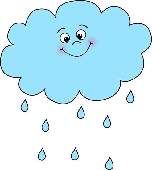 Дождь рисунок для детей