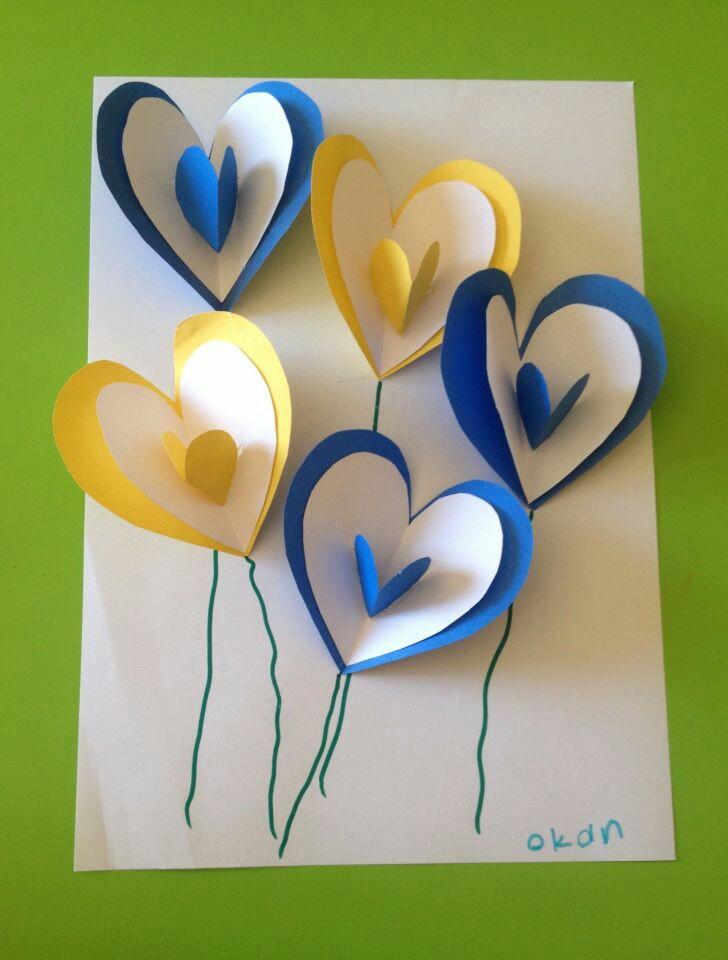 Открытках февраля, красивые поделки для мамы открытки