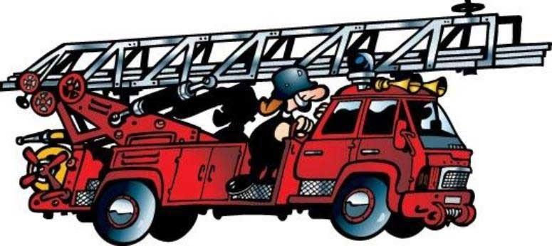С днем рождения пожарный открытки