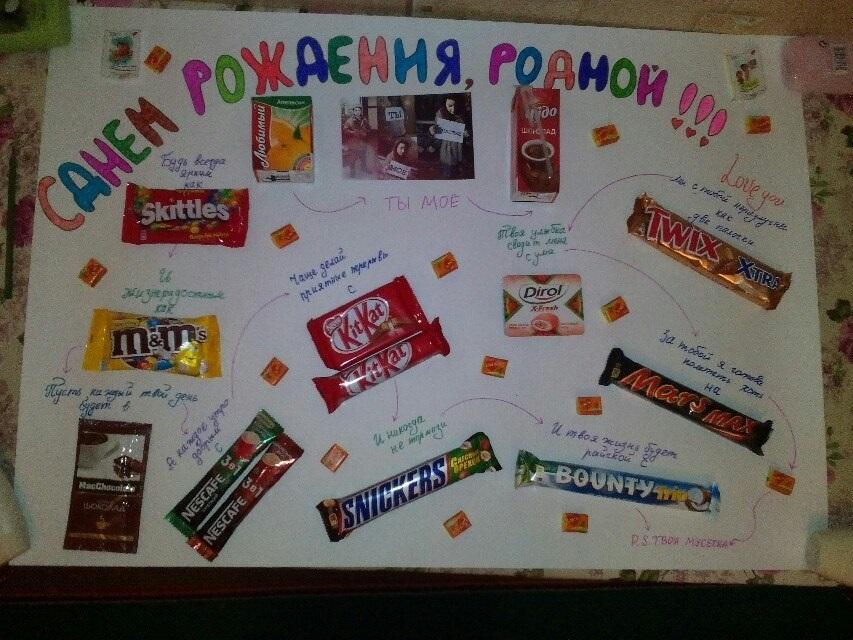 Плакаты и открытки с поздравлением