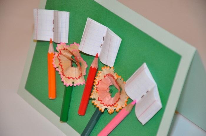 Как сделать открытку для учительницы на день учителя своими руками, марта путина
