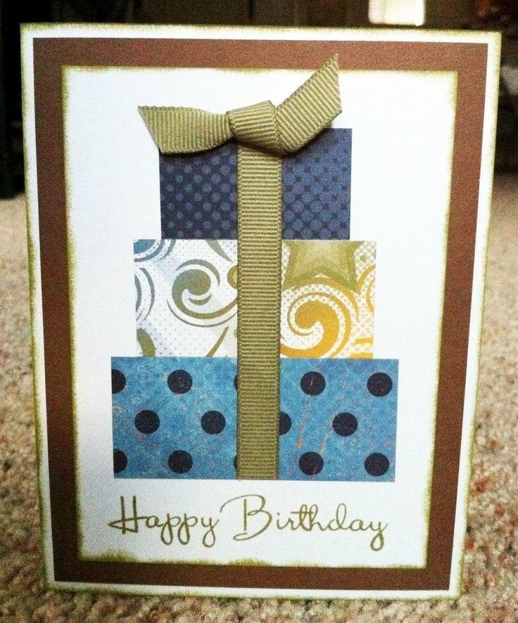 Делаем открытки к дню рождения