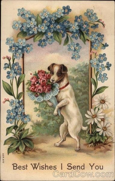 Старые английские открытки с днем рождения, картинки конфетами открытки