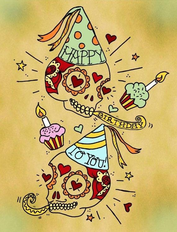 Щучьему, открытка татуировщику с днем рождения