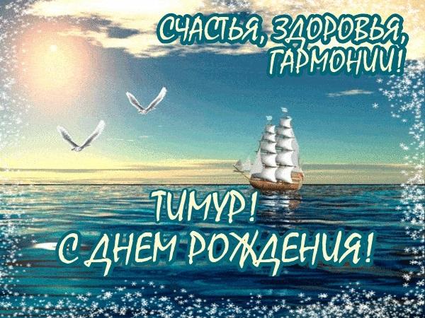 Тимур с днем рождения картинки со стихами, новым годом