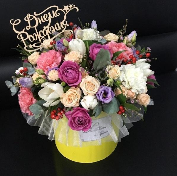 Для, открытки с днем рождения женщине розы в коробке