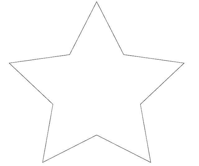 Стихами, шаблон звезды для открытки на 9 мая распечатать