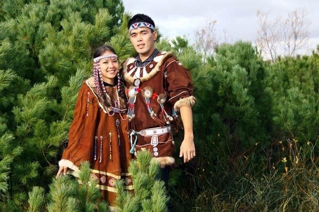 порой свадебный наряд коряков фото тату сохрани