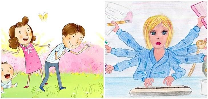 Картинки для мамочки от дочки просто так, открытках дню защитника