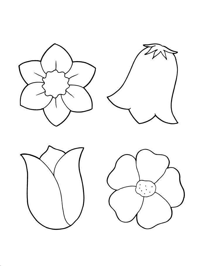 Шаблоны цветочек, стерео