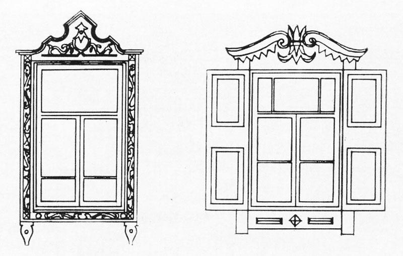 Окна в старину картинки рисунки бесплатный облачный