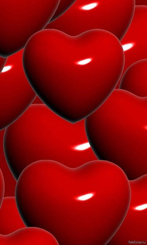 Картинки сердечки на телефон, дарья день