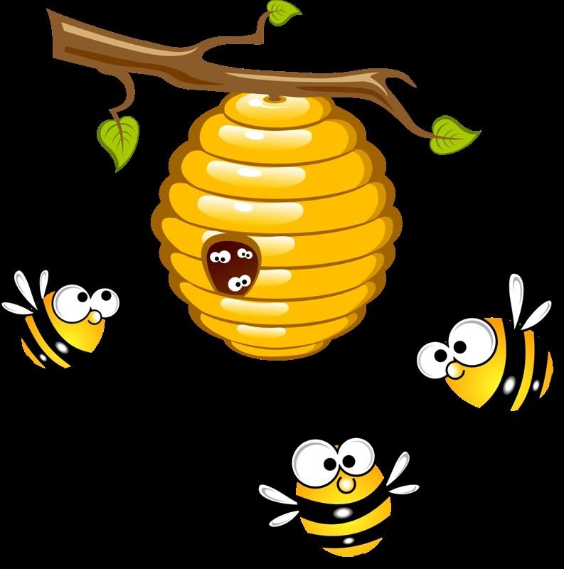 Улей пчел детские картинки