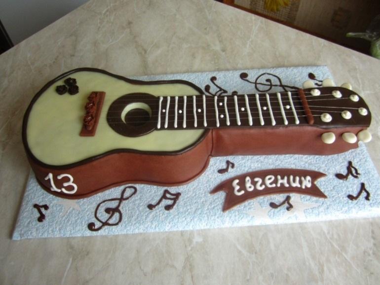 кровь торт гитара из мастики мастер класс фото опыту мастерских