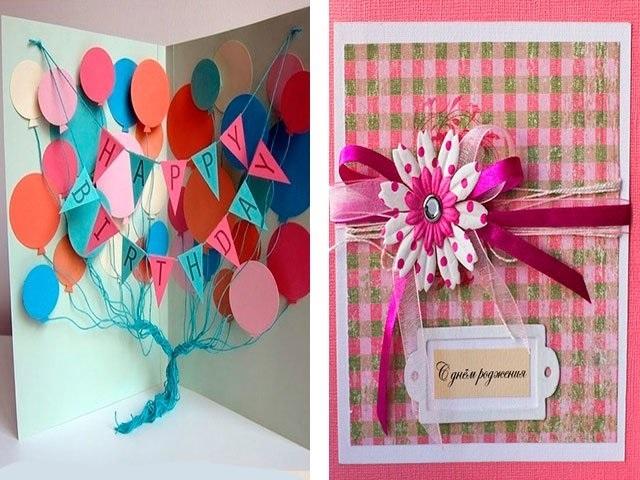Открытки с днем рождения для бабушки от внука своими руками