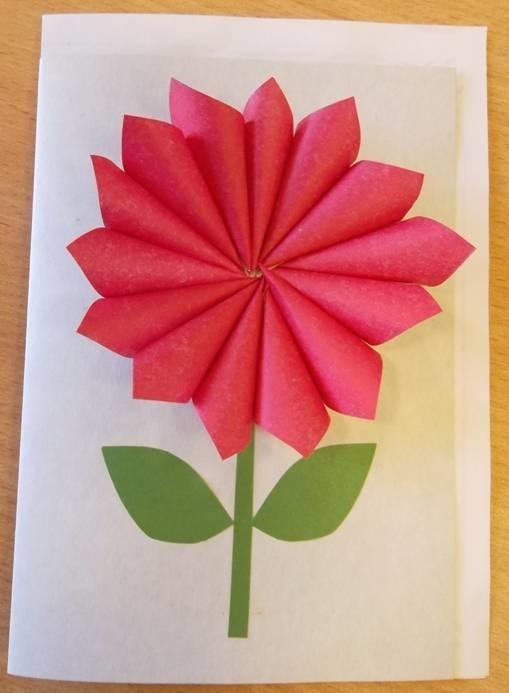 Добрый день, открытка из цветной бумаги своими руками ко дню пожилого человека