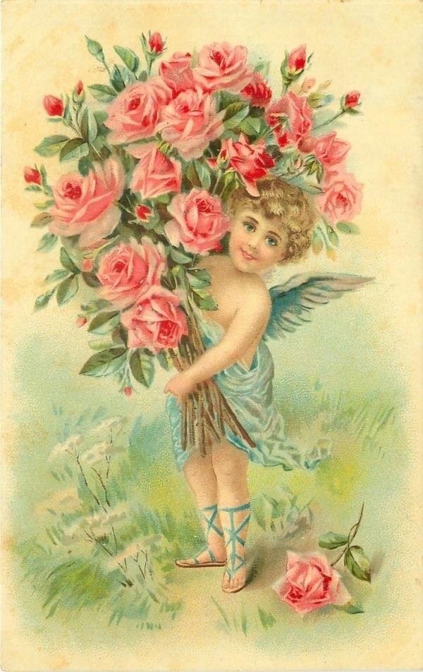 Стариные открытки с днем рожлеомя, сделать самим