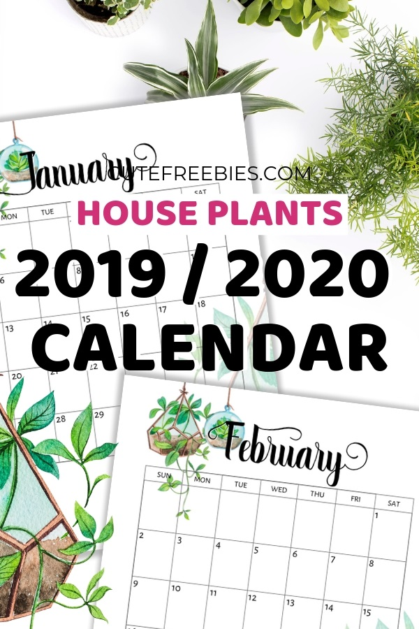 Printable 2019 2020 calendar monthly 001